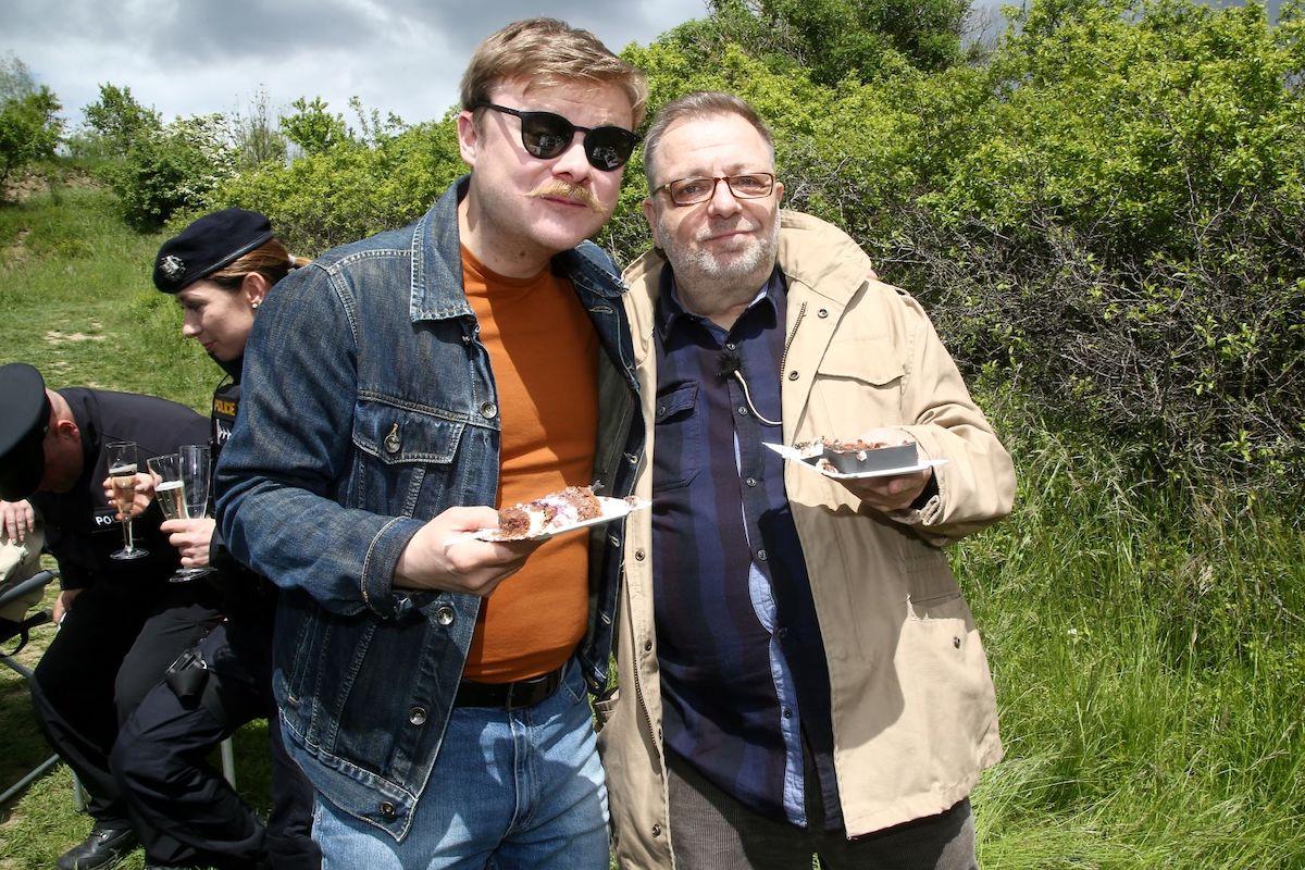 Filip Kaňkovský a Milan Šteindler. Foto: TV Prima