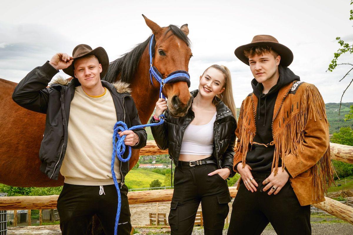 Jan Svěcený, Marie Rosecká a Tomáš Běhounek v reality show Like House. Foto: FTV Prima
