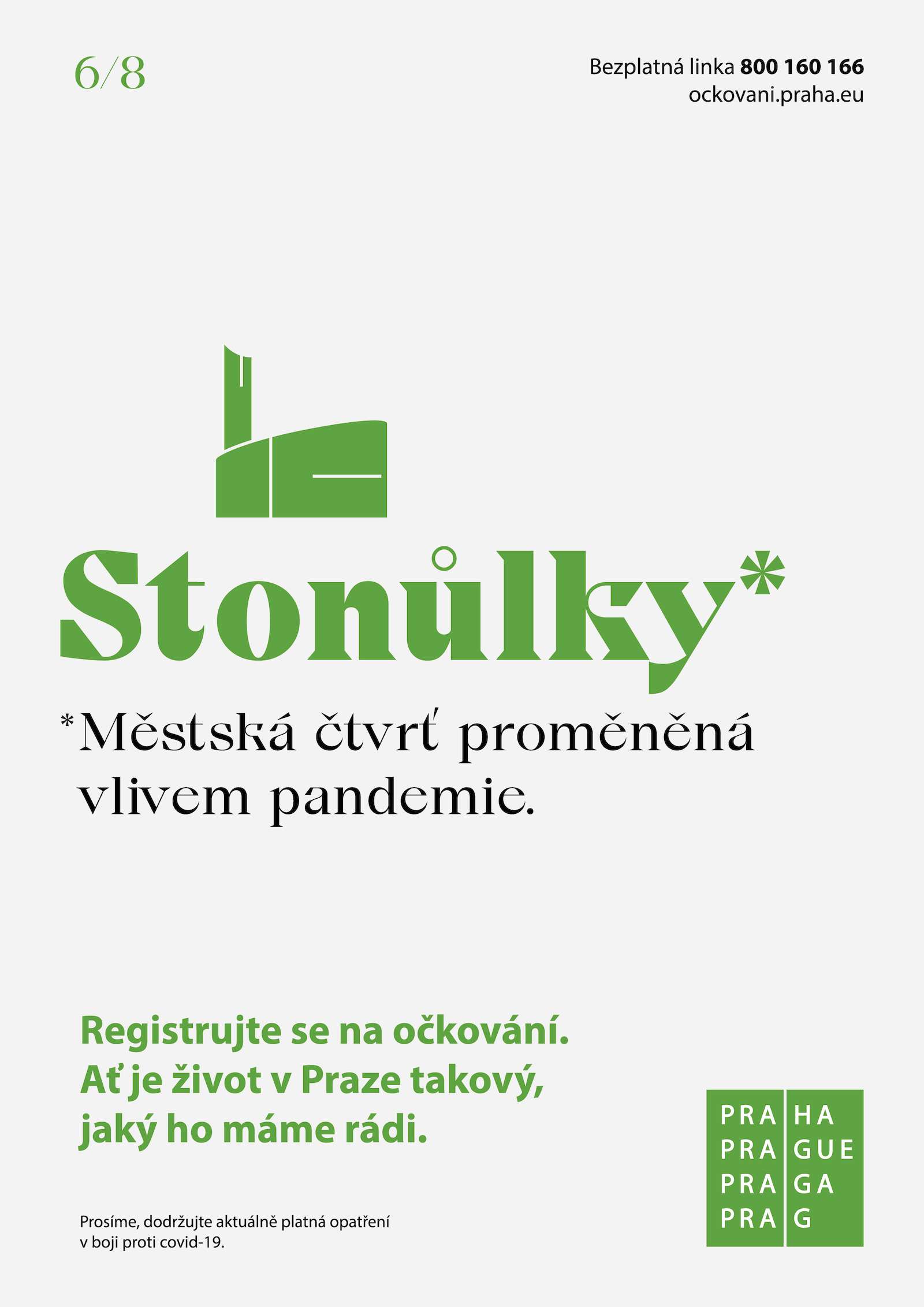 Vizuál kampaně Proměněná Praha (DDB Prague)