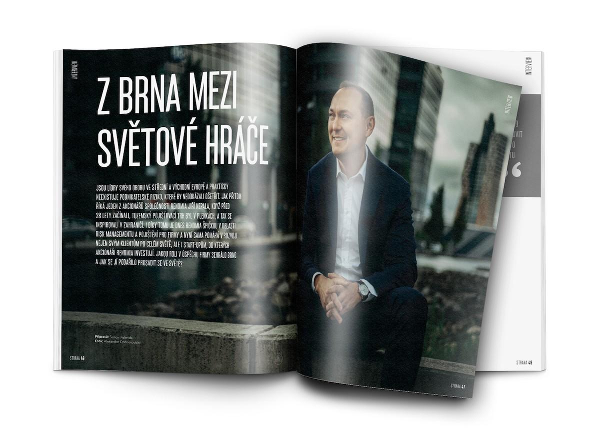 Ukázka z prvního čísla Premium Brno