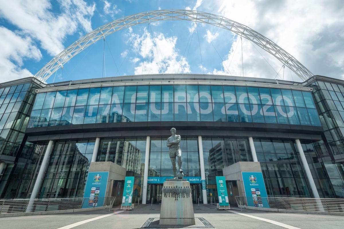 Letošní Euro je odložené z loňska, finále proběhne v londýnském Wembley. Foto: Profimedia.cz