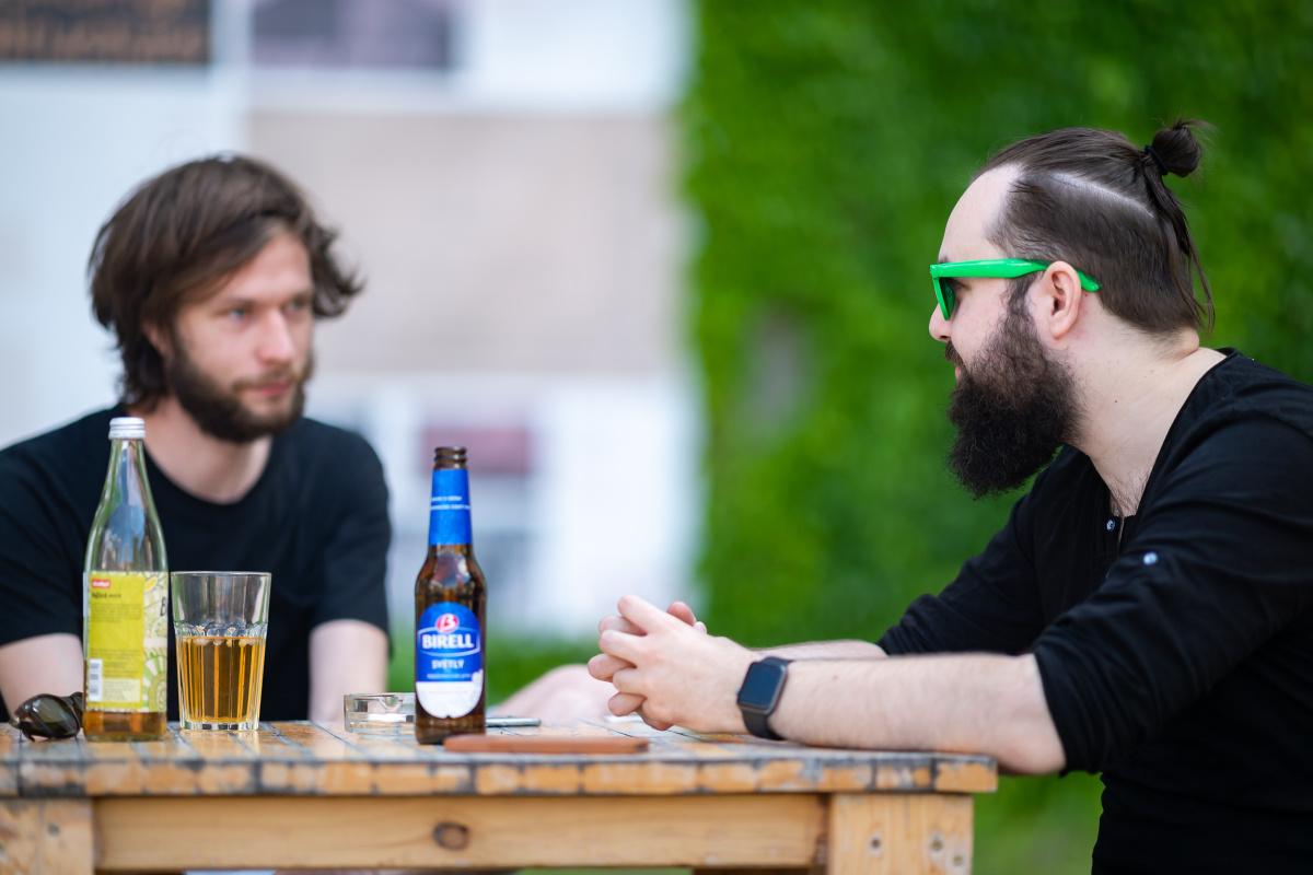 Jakub Jetmar a Stanislav Hruška. Foto: Vojta Herout