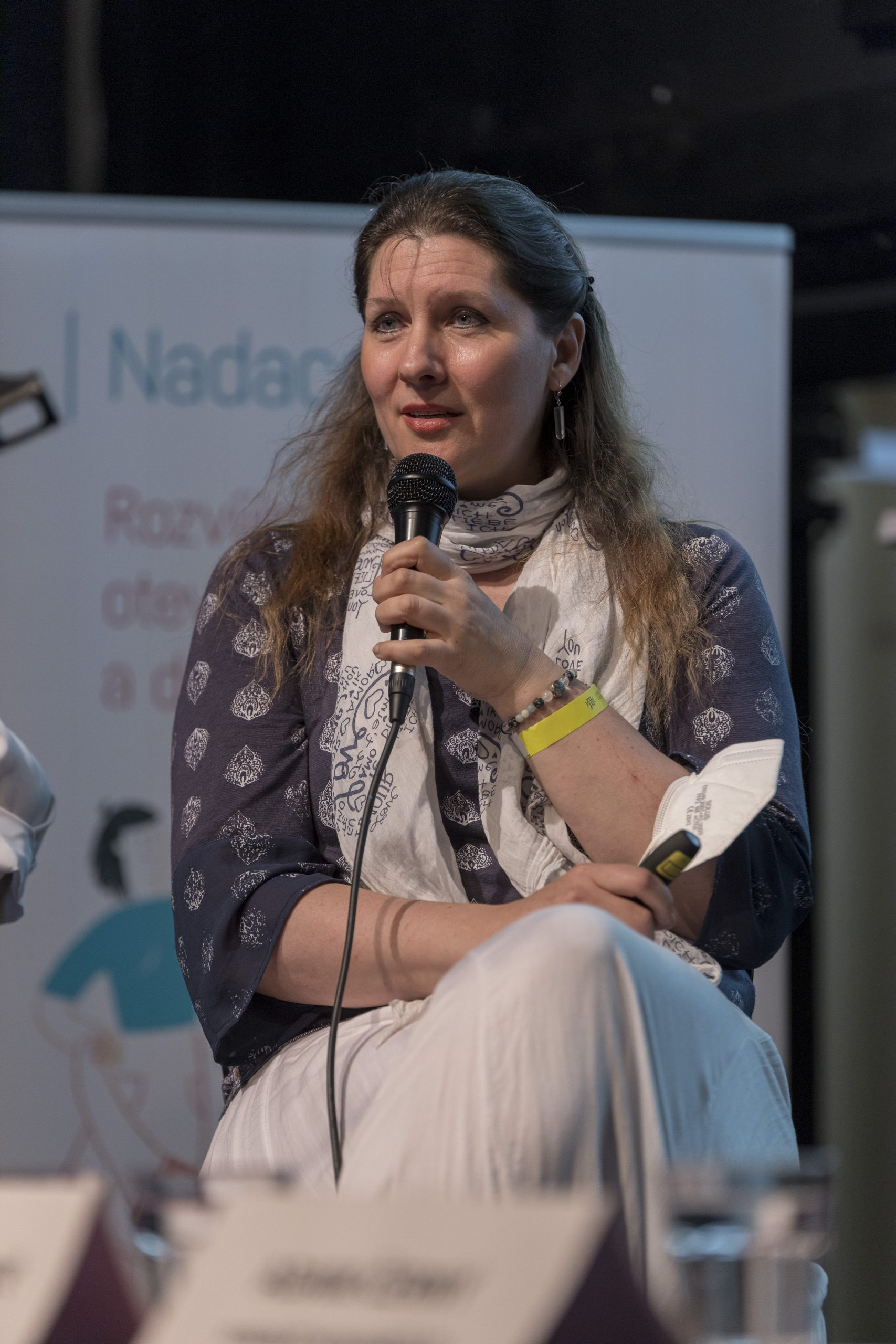Lucie Sýkorová. Foto: Hubert Hesoun