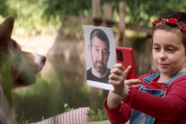 Z kampaně Vodafonu