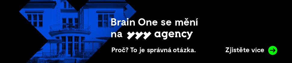 Brain One se mění na YYY