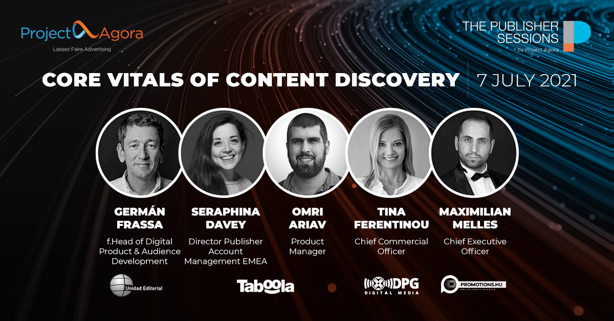 Online fórum Core Web Vitals of Content Discovery proběhne 7. července