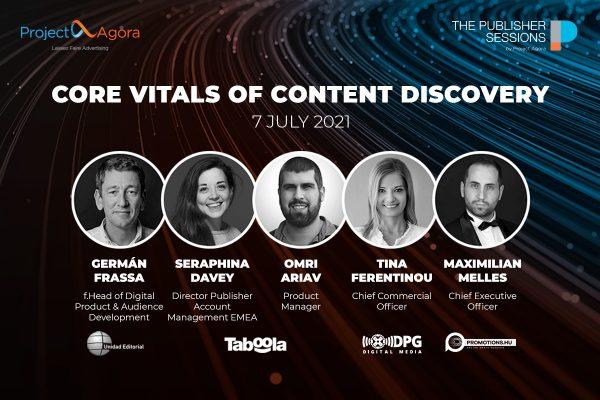 Přihlaste se na online fórum Core Vitals of Content Discovery