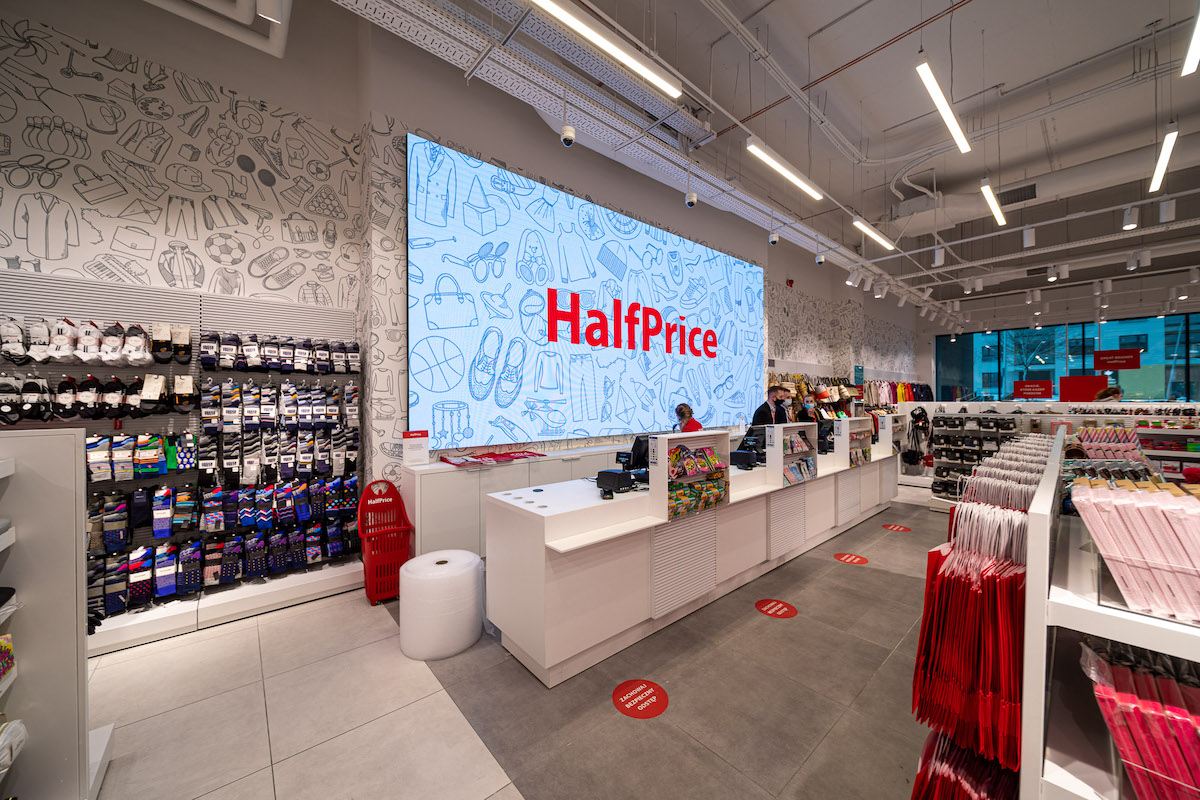 Polská síť HalfPrice přijde do Česka koncem září