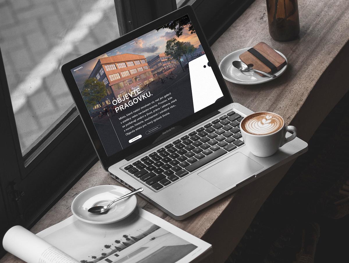 Pragovka Art District: nový web