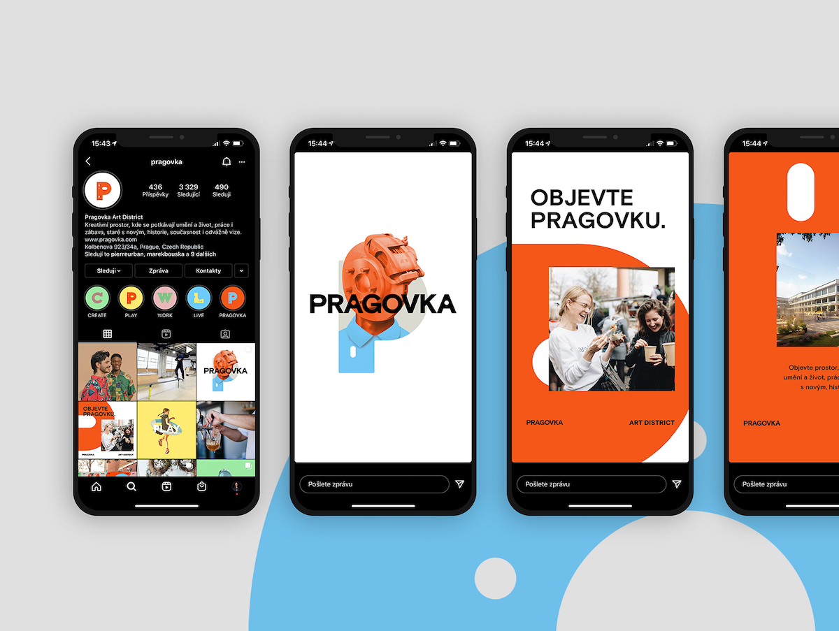 Pragovka Art District: sociální sítě