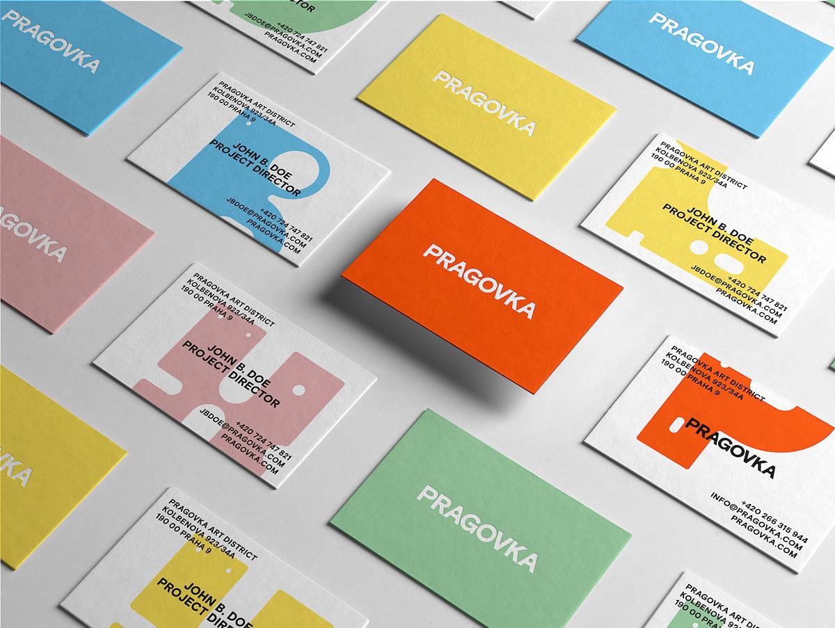 Pragovka Art District: užití nové vizuální identity
