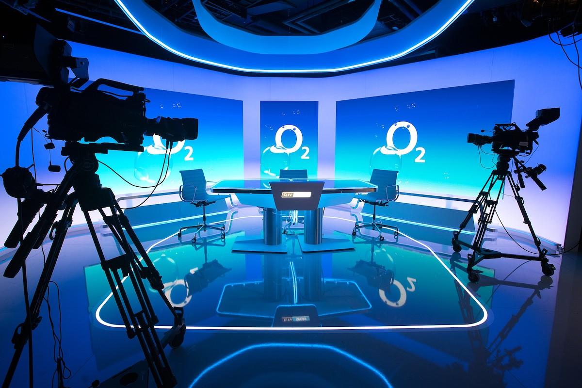 Nové studio O2 TV Sport