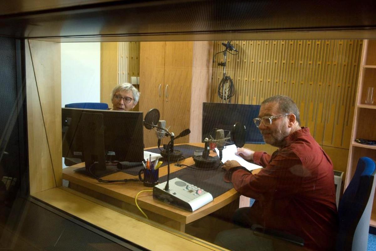 Tvářemi i hlasy stanice budou Dana Syslová a Tomáš Töpfer. Foto: Český rozhlas