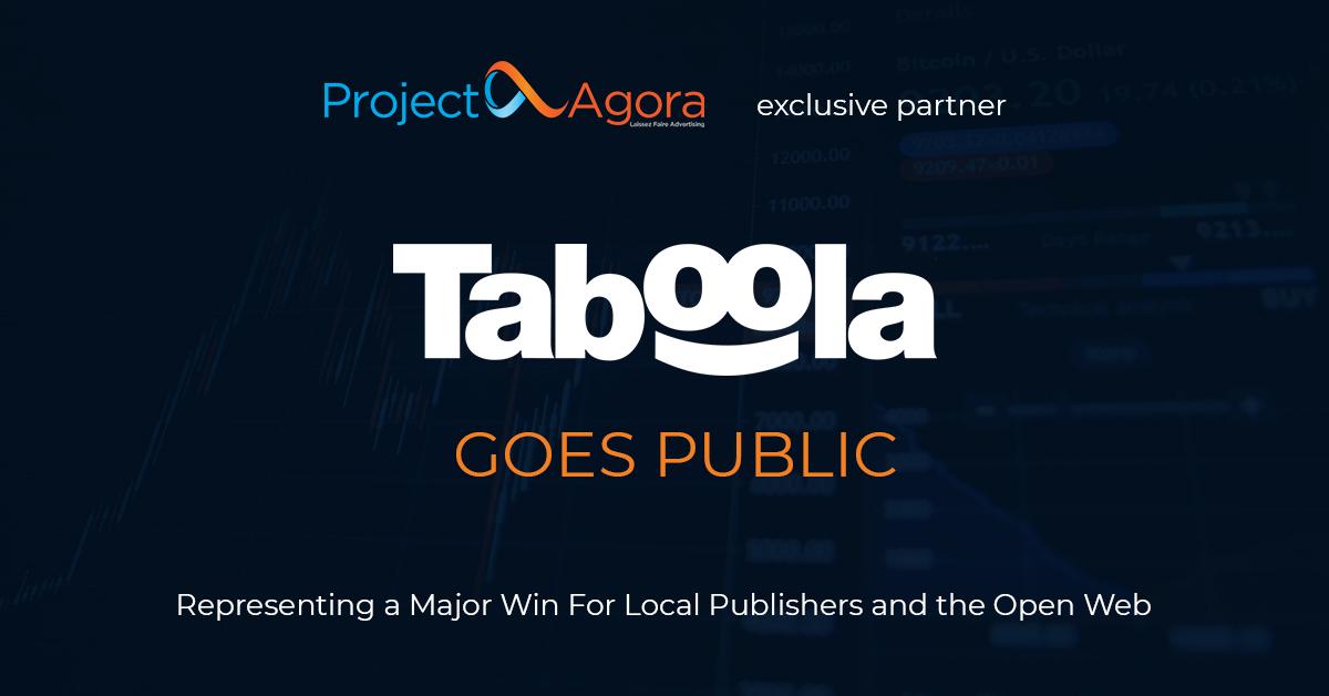 Taboola goes public