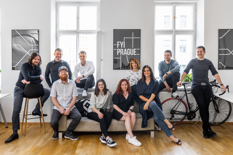 Kompletní tým agentury FYI Prague