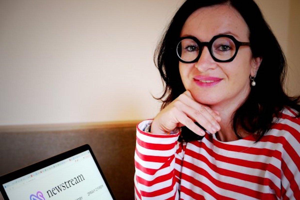 Tereza Zavadilová je šéfredaktorkou nového webu Newstream.cz
