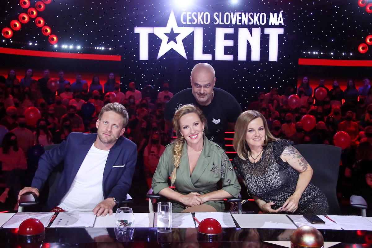 Porota 9. řady soutěže Česko Slovensko má talent. Foto: TV Prima