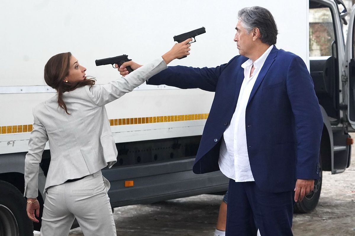 Marta Dancingerová a Predrag Bjelac v chystaném seriálu Duch. Foto: TV Prima