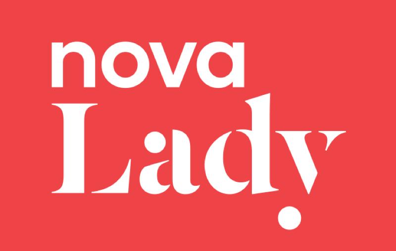 Logo nového kanálu Nova Lady