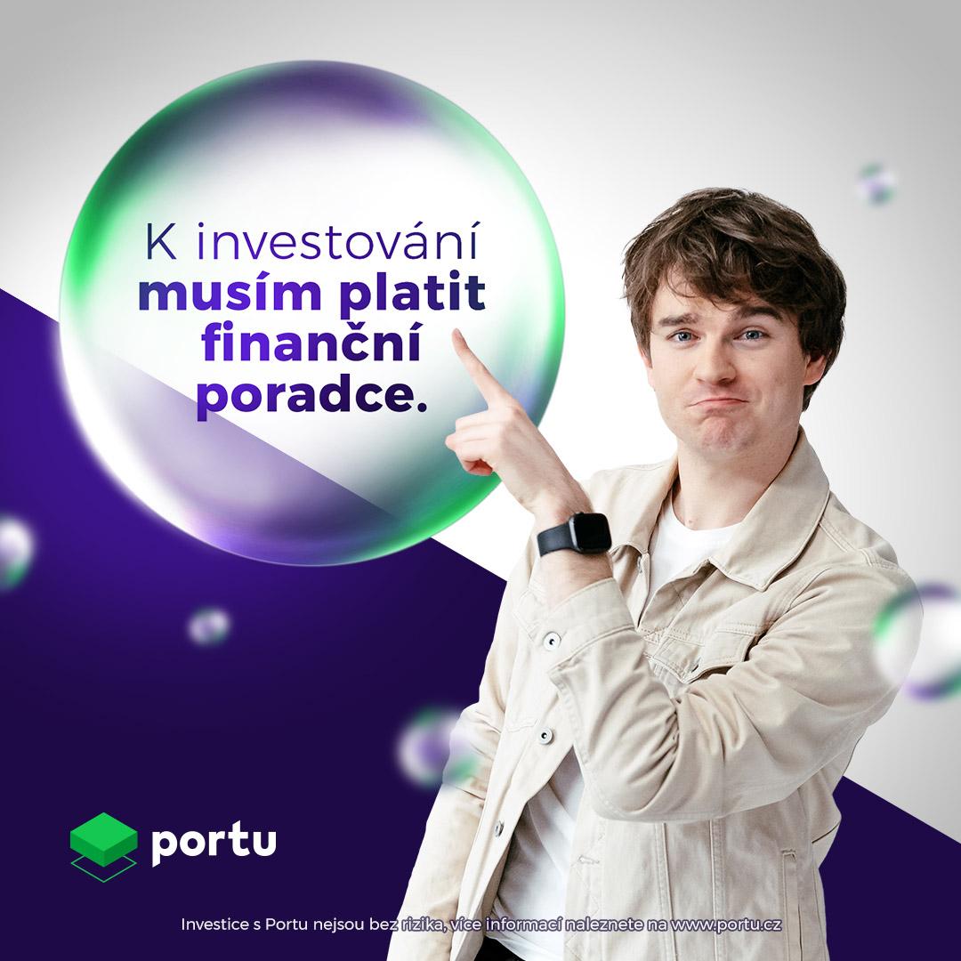 Ukázka kreativy z kampaně Portu