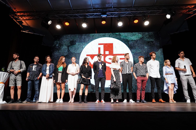 Protagonisté seriálu 1. mise na tiskové konferenci. Foto: TV Prima