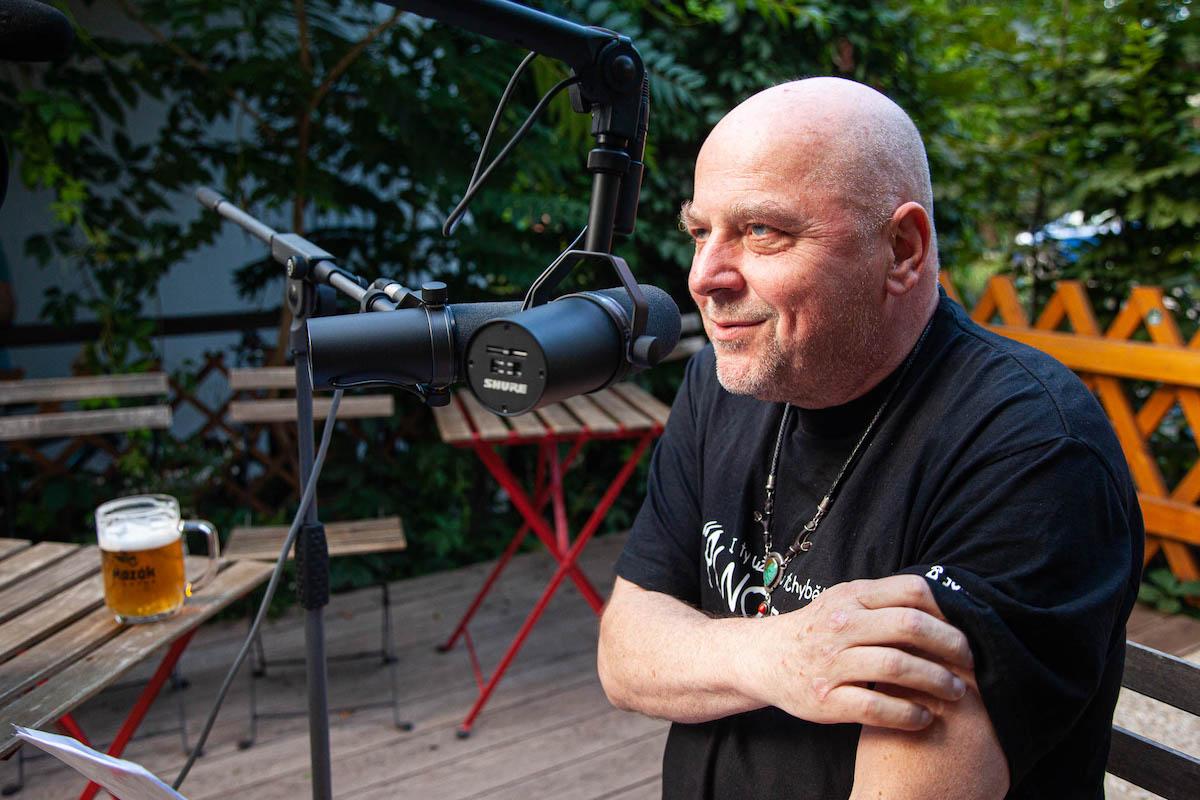 Hudebník Vladimír Václavek