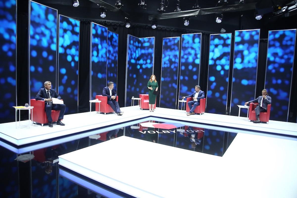 Speciál Hlas lidu na CNN Prima News. Foto: TV Prima