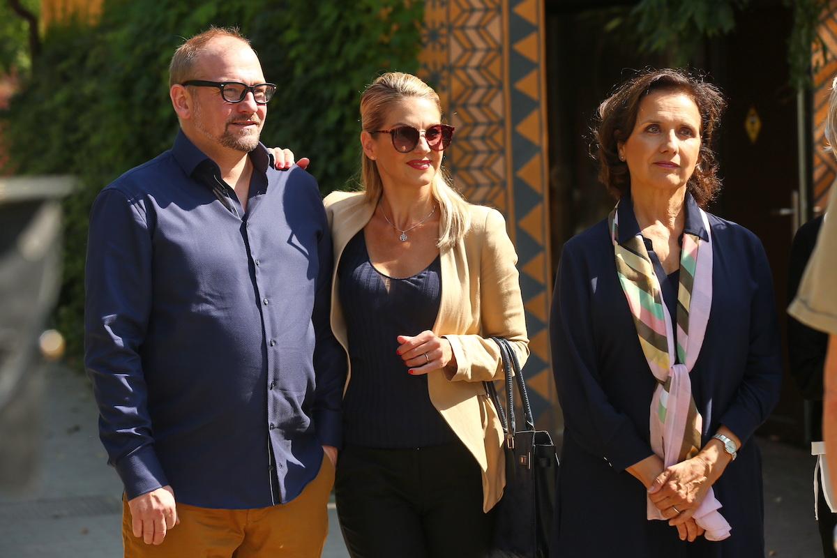 Marek Taclík, Sabina Laurinová a Veronika Freimanová. Foto: TV Prima