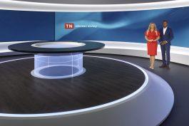TV Nova představila nové studio Televizních novin