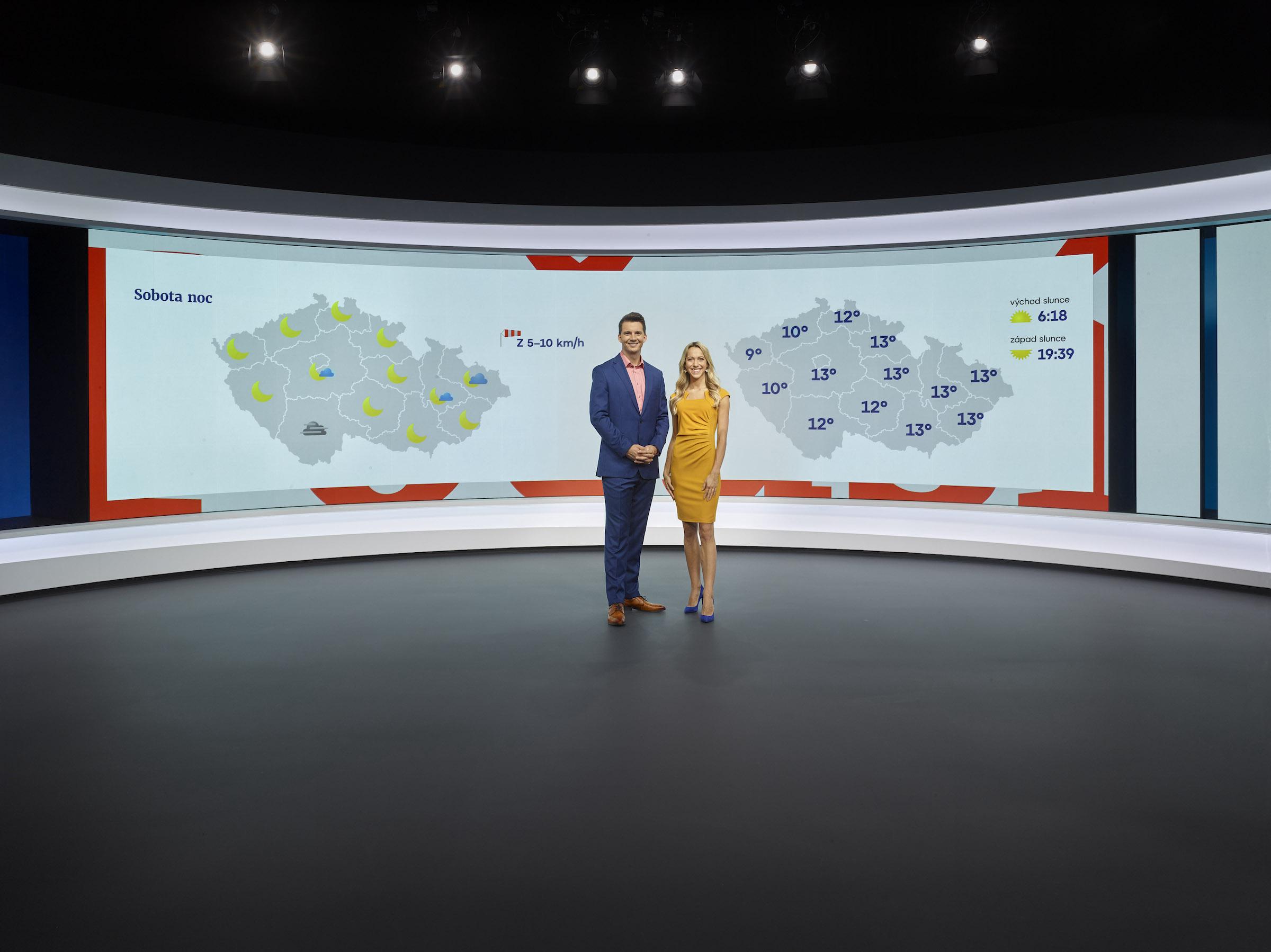 Nové studio Televizních novin
