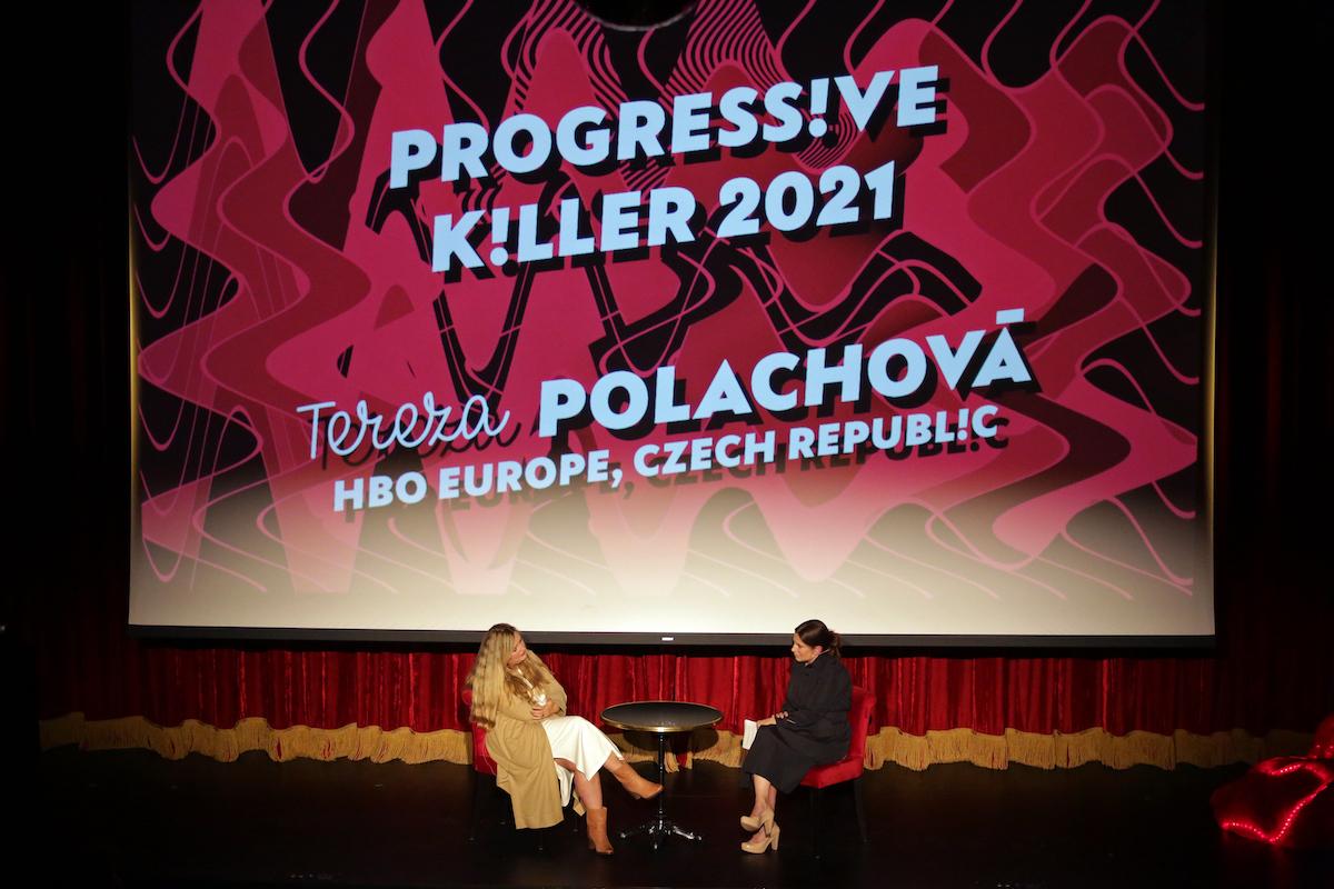 Cenu Progressive Killer dostala Tereza Polachová z HBO Europe. Foto: Serial Killer