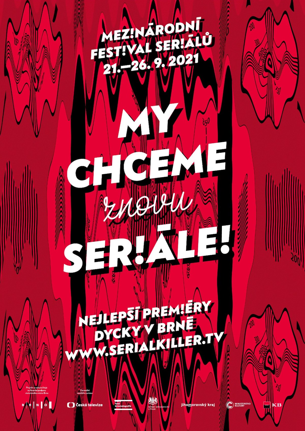 Propagace letošního ročníku festivalu Serial Killer si hraje s předvolebními hesly