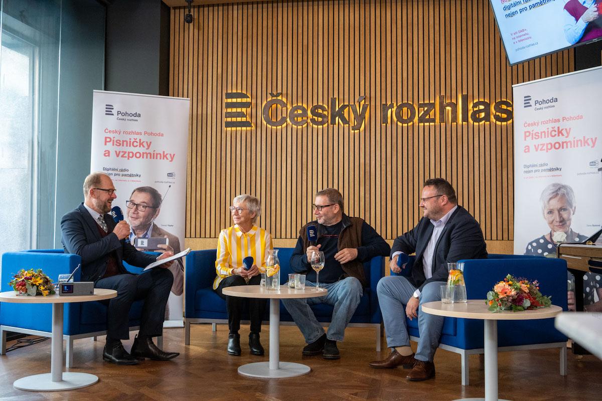Ze slavnostního zahájení Českého rozhlasu Pohoda. Foto: Khalil Baalbaki