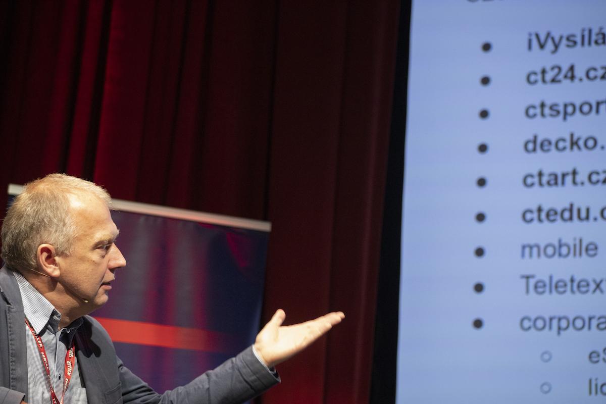 Jan Maxa, ředitel vývoje pořadů a programových formátů ČT. Foto: Serial Killer