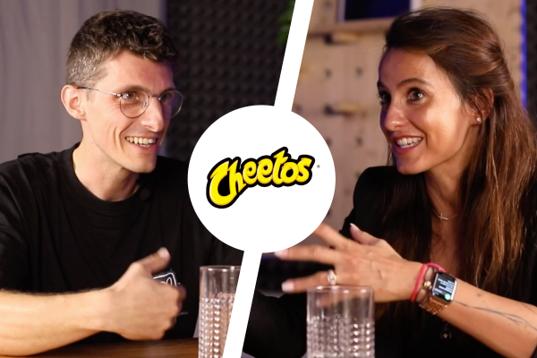 Na značky! Tino Hrnčiar a Kateřina Jukl o kampani Cheetos ze Super Bowlu
