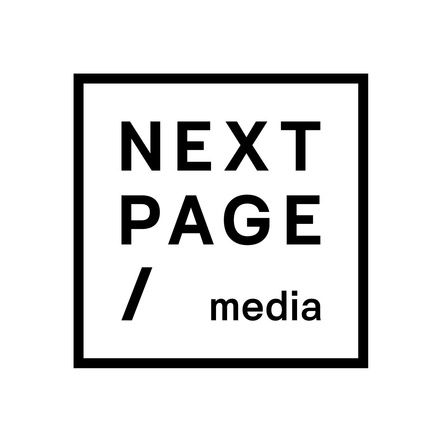 Logo vydavatelství Next Page Media