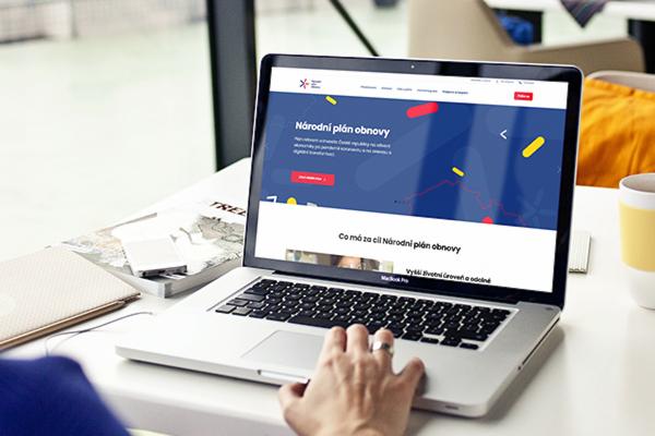 Plán obnovy ČR má web od týmu Beneš & Michl